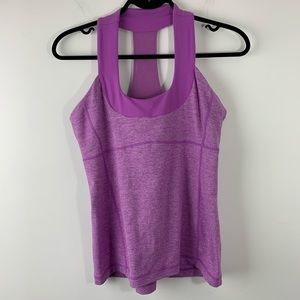 Lululemon Scoop Neck Tank Top In Purple Size 10